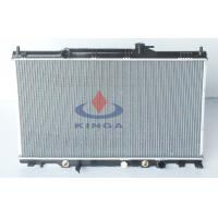 High performance Honda Aluminum Radiator Of CRV 2002 , 2006 RD5 AT OEM 19010-PPA-A51 Manufactures