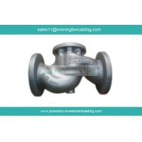 Globle Valve fabricated by Carbon Steel Investment Casting made of 1.0619 tempered and pickled Manufactures