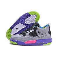 Cheap Nike Air Jordan 4 Shoes Grey Purple Pink From sportsyyy.ru Manufactures