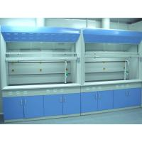 1.0mm Cold Rolled Steel Chemical Fume Hood , Blue Lab Fume Cupboard Manufactures