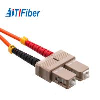 China SC-SC Fiber Optic Patch Cord High Return Loss With LC FC ST SC UPC SM MM Connector on sale