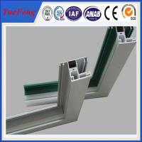 Aluminium windows with mosquito net in china, frame for double glass aluminium windows Manufactures