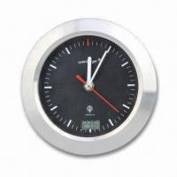Thermometer Wall Clock, DCF (Germany), JJY (Japan), WWVB (the US), MSF (the UK), Radio Controlled Manufactures