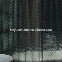 buy china Antibacterial 3d peva vinyl shower curtain clear with morden design