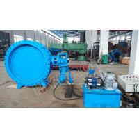 Quality DN2000mm Hydraulic Heavy Hammer  Butterfly Valve for Hydropower Station, hydropower equipment for sale