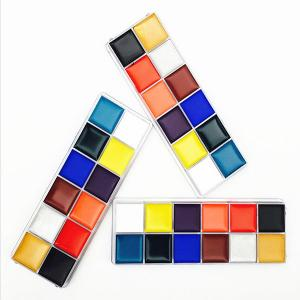 China Makeup Oil Painting 12 Colors Face Body Paint on sale