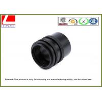 CNC Custom Plastic Parts Black POM Sleeve Used For Sensor System Outdoor Manufactures