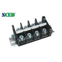 China PCB Barrier Terminal Block Connector For Switch , Power Supply 26.00mm , 600V 101A on sale