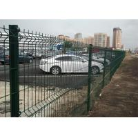 PVC Coated Wire Mesh Fence Panels 2030mm x 2500mm Manufactures