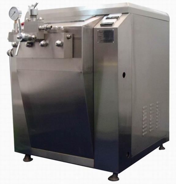 Quality Professional Food Sanitary juice / milk homogenizer machine automatic grade for sale
