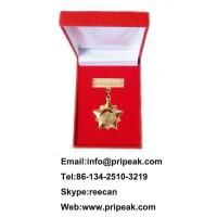 China Russia Royal Rugby Custom Sports Medals Soft Enamel Surface / Synthetic Enamel Surface on sale