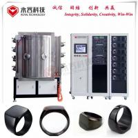 DLC Thin Film Deposition Systems / Small Pvd Coating Machine For Jewelry Precision Rings Manufactures