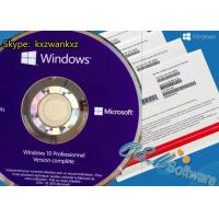 China Retail Key Windows 10 Pro Oem Pack Win 10 Pro Key DVD Box Global Activations on sale