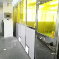 Candy Industry Filter Cleaning Booth Stainless Steel Frame Module Class 1001000 10000 Manufactures