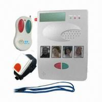 China Elderly Telephone Alarm Emergency Calling System with Auto Dialer for Help/LCD Display on sale