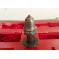 Tungsten Carbide Mining Conical Buttons / Conical Cutting Bits for Gas Mining Manufactures