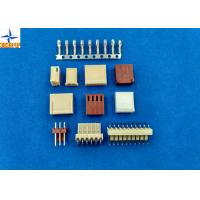 Wire To Board Type Connectors, Single Row Housing Connectors Brass Material Tinned Contact Manufactures