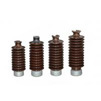 12KV High Voltage Electrical Ceramic Insulators Safe With High Efficiency Manufactures