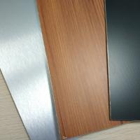 Brushed Finish Stainless Steel Composite Panel Exterior Wall Cladding Designs Manufactures