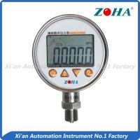 China High Temperature Digital Pressure Gauge For Scientific Research Experiment on sale