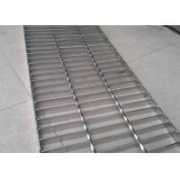 Durable Stainless Steel Bar Grating , Acid Pickling Steel Catwalk Grating Manufactures