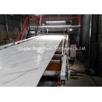Shopping Malls Decorative Plastic Sheet Extrusion Machine 300 - 400 Kg/Hr Extrusion Capacity Manufactures