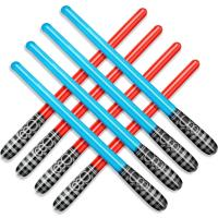 Buy cheap Inflatable Light Sabre Children's Inflatable Toys Party Accessories Pack of 8 from wholesalers