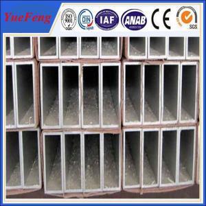 mill finish surface square pipe US$3.0/kg aluminium price per kilo Manufactures