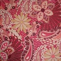 97% Cotton and 3% Spandex Print Fabric, 57 to 58-inch of Width Manufactures