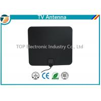 China 174-230/470-862 MHz Digital TV Antenna Indoor Flat Design Coaxial Cable on sale