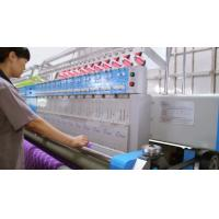 Quality 50.8mm Computerized Embroidery Machine Less Stitch Skip For Car Cushions for sale
