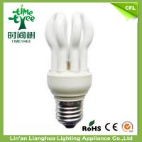 14mm 4U 50W Lotus CFL Energy Saving Lamp Florescent Light With CE / ROHS Manufactures