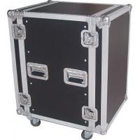 Quality 10mm Plywood Rack Flight Case , Equipment Aluminum Carrying Case for sale
