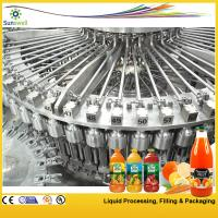 High-speed Hot Filling Machine , Raspberry / Strawberry Juice Processing Machine Manufactures