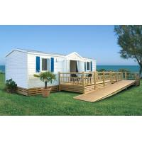 China Europe Style Prefabricated Mobile House / Luxury Mobile Homes For Living / colorbond roofing wholesale