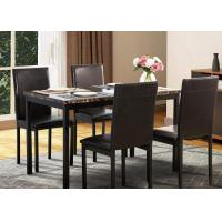 China Modern Wooden Dining Room Furniture Restaurant Dinette And Hotel Table And Chair Set on sale