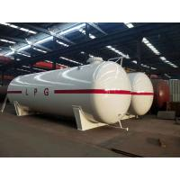 50 Cubic Meter Gas LPG Tank 25 Metric Tons Bulk Liquefied Petroleum Filling Station Manufactures
