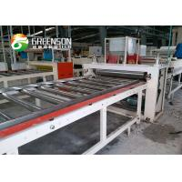 China Nonwoven Fiber Glass Laminated Gypsum Ceiling Tiles Production Line on sale