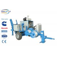 China Extra Shaft Hydraulic Puller Tensioner Max Intermittent Pull 40KN 77kw Diesel on sale