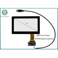 7 Inch Capacitive Touch Panel Cover Glass To ITO Glass with USB Interface Manufactures