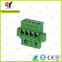 Connector Terminal Block Wire Range 28-12 AWG , Plug Terminal Block Manufactures