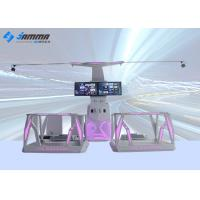 VR Station 9D VR Simulator Interactive Shooting Game Machine For Different Ages Manufactures