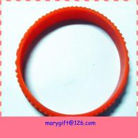 Quality new style cool rainbow tire silicone wristband custom wristband cheap for sale