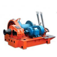 5 Ton - 15 Ton Electric Wire Rope Winch For Hoisting , Fast Slides Windlass Manufactures