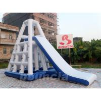0.9mm Durable PVC Inflatable Water Climbing Slide For Water Park Manufactures
