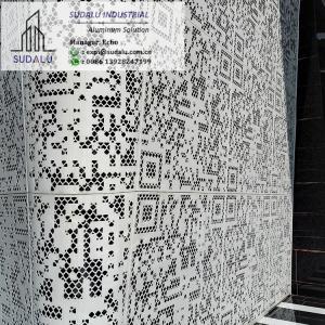 SUDALU Modern Exterior Aluminium Wall Cladding Panels Customized Design Pattern Panel Manufactures