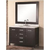 48 Granite Top Wooden Bathroom Vanity Cabinet  (58296) Manufactures
