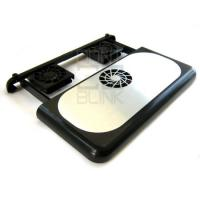 Laptop CPU Cooler Four 7 cm fans ( Large-sized on/off switch ) Manufactures