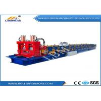 China Blue color Automatic CNC Control High Speed C Purlin Roll Forming Machine at factory direct sell price on sale