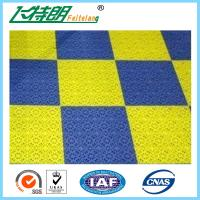 Exterior Interlocking Rubber Floor Tiles Plastic Tile Flooring PUR Solid Manufactures